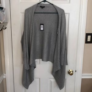 NWT Women's gray cardigan